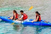 Kayak at Talicud.