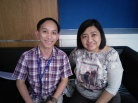 From iAcademy. Mr. Allen Saraza, Course Coordinator, and Ms. Cleah Nava, Senior Business Development Manager.