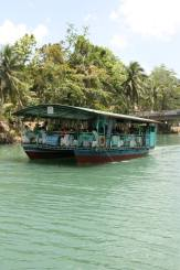 At the Loboc River Cruise.