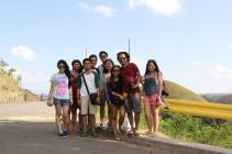 At the Chocolate Hills
