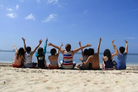 Too hot at Virgin Island.
