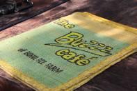 The Buzz Cafe menu.