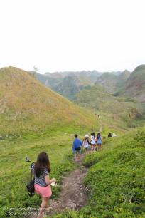 the way to Osmeña Peak, 20 minutes walk