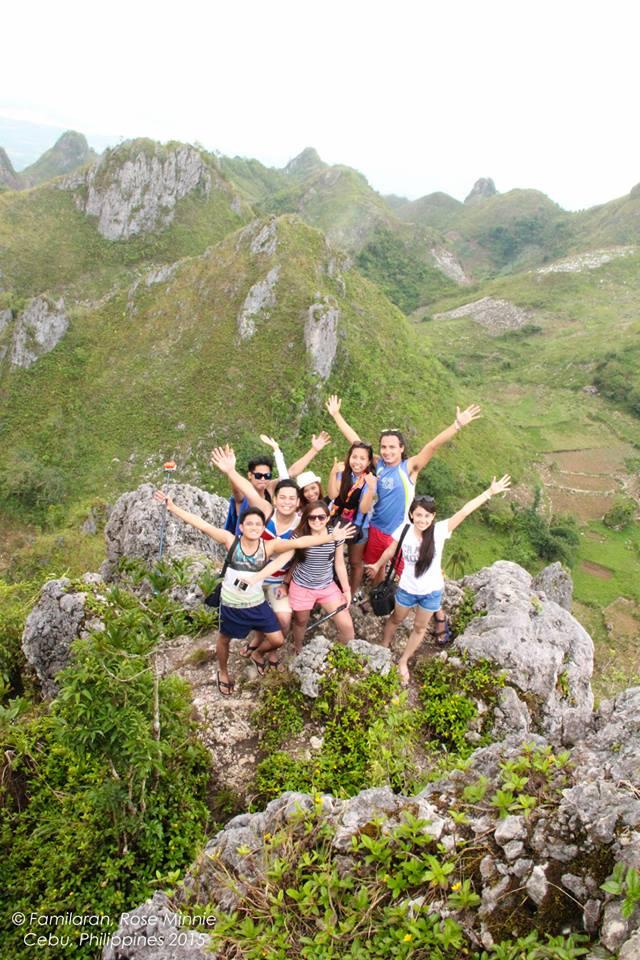 at the Peak. yey!