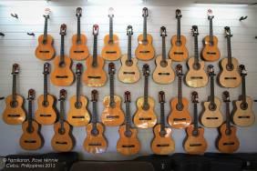Guitars at Alegre Guitar Making Shop