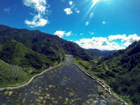 View point at Ifugao.