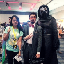 Tony Stark and Kylo Ren