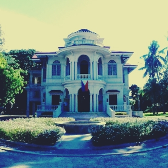 The renovated Molo Mansion.