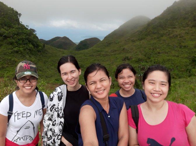 No. Just the view at kandungaw peak.