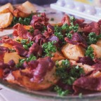 Potato Wedges with Bacon