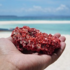 What Made the Pink Islands of Balabac?