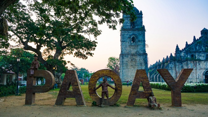 1-Paoay Church Letters